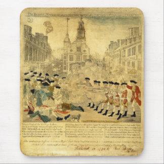 The Boston Massacre by Paul Revere Mouse Pad