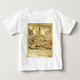 The Boston Massacre by Paul Revere Shirts