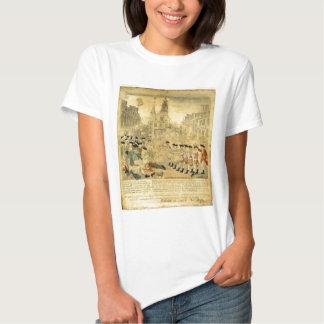The Boston Massacre by Paul Revere T Shirt