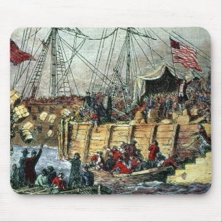 The Boston Tea Party, 16th December 1773 Mouse Mat