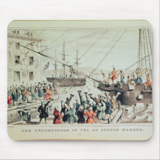 The Boston Tea Party, 1846 Mouse Pad