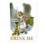 The Bottle Said Drink Me, So Alice Did!