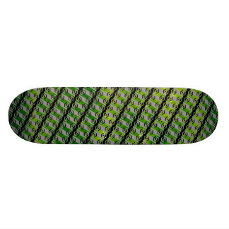 The Bottom of The Saucer Was Made of... Custom Skateboard