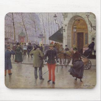 The Boulevard des Capucines Mouse Pad