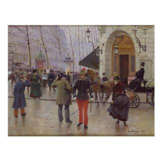 The Boulevard des Capucines Postcard