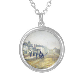 The Boulevard Heloise in Argenteuil by Claude Mone Round Pendant Necklace