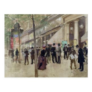 The Boulevard Montmartre Postcard