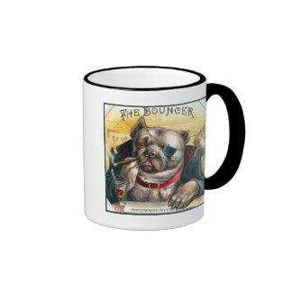 The Bouncer Dog Coffee Mugs