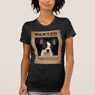 The Bouncy Boston Terrier T-Shirt