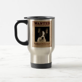 The Bouncy Boston Terrier Travel Mug