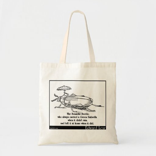 The Bountiful Beetle Canvas Bag