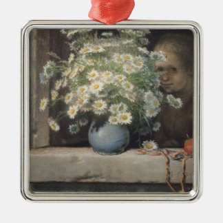 The Bouquet of Margueritas, 1866 Christmas Ornament