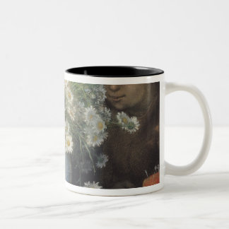The Bouquet of Margueritas, 1866 Two-Tone Coffee Mug