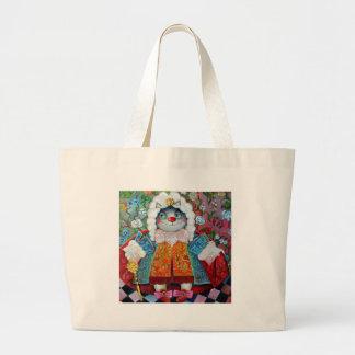 the bourgeois gentleman jumbo tote bag