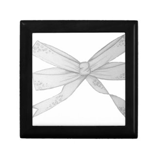 The Bow Small Square Gift Box