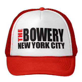 The Bowery NYC Trucker Hat