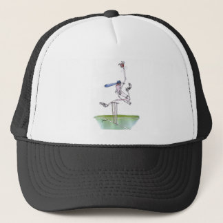 the bowler - cricket, tony fernandes trucker hat