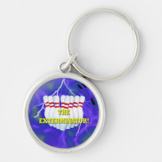 The Bowling Champ Keychain