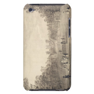 The Bowling Green at Claremont, 1738 (engraving) Barely There iPod Cover