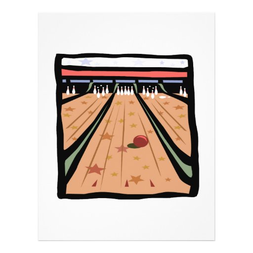 The Bowling Lanes Personalized Flyer
