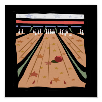 The Bowling Lanes Poster