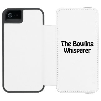 the bowling whisperer incipio watson™ iPhone 5 wallet case