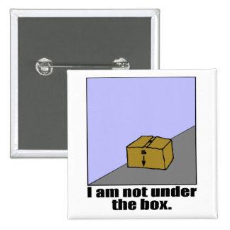 The Box 15 Cm Square Badge