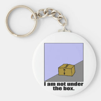 The Box Basic Round Button Key Ring