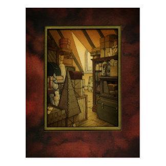 The Box Room Art Post Card