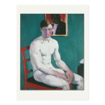 The Boxer by Francis Cadell Postcard