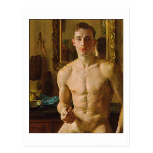 The Boxer by Konstantin Somov Post Cards
