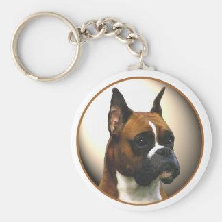 The Boxer Dog Key Ring