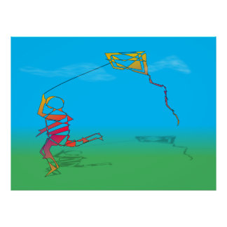 The Boy And The Kite Posters
