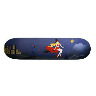 The Boy and the Witch Custom Skateboard