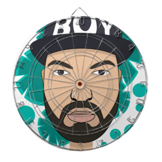 The boy dartboard