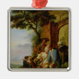 The Boy from Savoy and his Marmot, 1783 Christmas Ornament