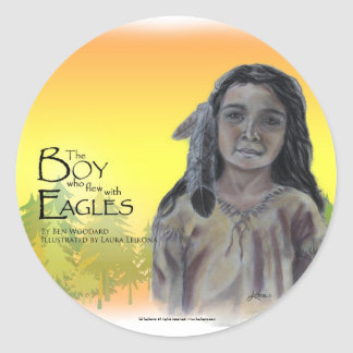The Boy who flew with Eagles Sticker