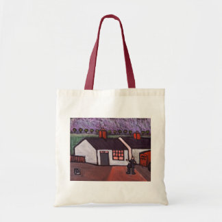 THE BOY WHO WAS KNOCKED DOWN BUDGET TOTE BAG