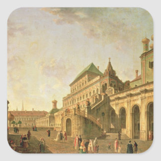 The Boyar's Ground in the Moscow Kremlin, 1801 Square Sticker
