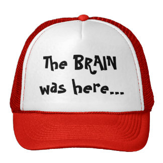 The BRAIN was here... Cap