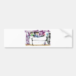 The Brainwash Tube Bumper Stickers