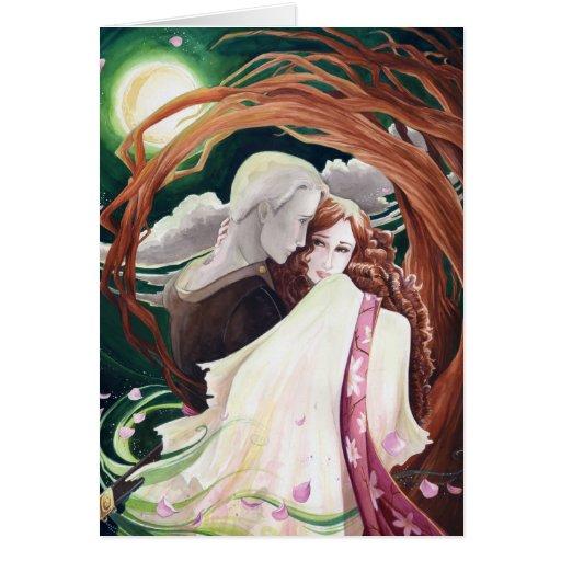 The Bramble Bride Card