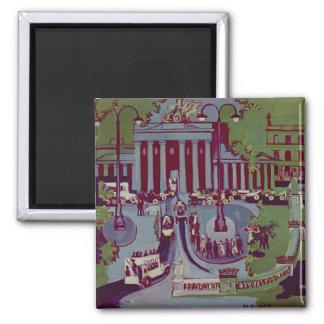The Brandenburg Gate Berlin 1929 Refrigerator Magnets