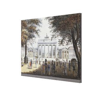 The Brandenburg Gate, Berlin Canvas Print