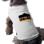 The Brandenburg Gate in Berlin (Germany) Sleeveless Dog Shirt