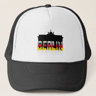The Brandenburg Gate in Berlin (Germany) Trucker Hat