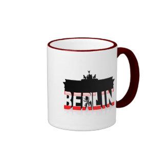The Brandenburg Gate in Berlin Coffee Mugs
