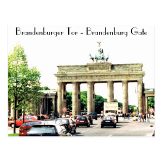 The Brandenburg Gate Postcard