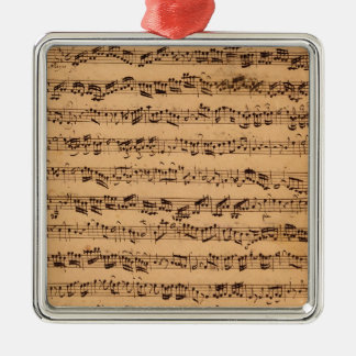 The Brandenburger Concertos, No.5 D-Dur, 1721 Christmas Ornament