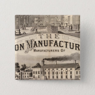 The Brandon Manufacturing Company 15 Cm Square Badge